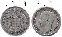 Изображение Монеты Греция 1 драхма 1868 Серебро XF-