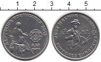 Изображение Монеты Европа Португалия 2 1/2 евро 2012 Медно-никель UNC-