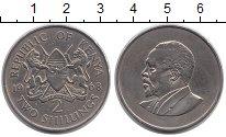 Изображение Монеты Африка Кения 2 шиллинга 1968 Медно-никель XF