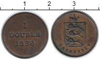 Изображение Монеты Гернси 1 дубль 1830 Медь XF