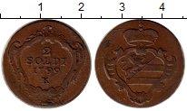 Изображение Монеты Гориция 2 сольди 1799 Медь XF К