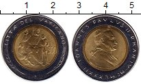 Изображение Монеты Европа Ватикан 500 лир 1982 Биметалл UNC-