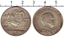 Изображение Монеты Италия 2 лиры 1908 Серебро XF