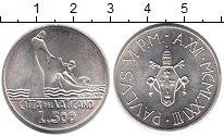 Изображение Монеты Ватикан 500 лир 1978 Серебро UNC-