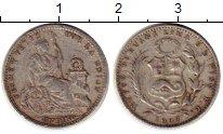 Изображение Монеты Южная Америка Перу 1 динер 1907 Серебро VF