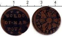 Изображение Монеты Италия Мантуя 1 сольдо 1731 Медь VF