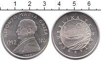 Изображение Монеты Европа Мальта 2 фунта 1975 Серебро Proof-