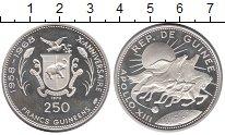 Изображение Монеты Гвинея 250 франков 1970 Серебро Proof-