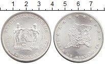 Изображение Монеты Южная Америка Суринам 10 долларов 2013 Серебро UNC-