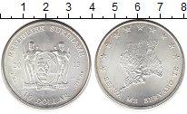 Изображение Монеты Южная Америка Суринам 10 долларов 2013 Серебро UNC