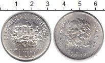 Изображение Монеты Европа Сан-Марино 1000 лир 1978 Серебро UNC-