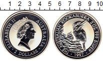 Изображение Монеты Австралия 2 доллара 1997 Серебро Proof-