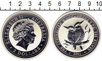 Изображение Монеты Австралия и Океания Австралия 2 доллара 2001 Серебро Proof-