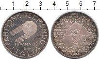 Изображение Монеты Европа Италия Медаль 1982 Серебро Proof-