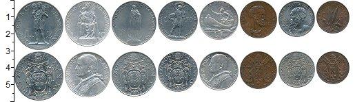 Изображение Наборы монет Ватикан Ватикан 1936 г, 1936  XF