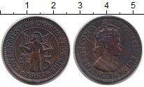 Изображение Монеты Кипр 5 милс 1955 Бронза XF
