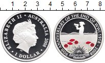 Изображение Монеты Австралия 1 доллар 2008 Серебро Proof