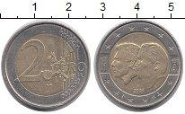 Изображение Монеты Бельгия 2 евро 2005 Биметалл XF