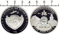 Изображение Монеты Палау 1 доллар 2010 Посеребрение Proof