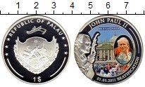 Изображение Монеты Палау 1 доллар 2011 Посеребрение Proof