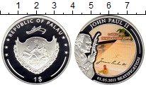 Изображение Монеты Австралия и Океания Палау 1 доллар 2011 Посеребрение Proof