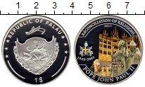 Изображение Монеты Палау 1 доллар 2011 Посеребрение Proof Цветная  эмаль.  Иоа