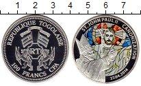 Изображение Монеты Африка Того 100 франков 2014 Посеребрение Proof