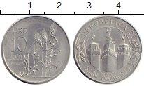 Изображение Монеты Сан-Марино 10 лир 2001 Алюминий UNC-