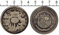 Изображение Монеты Либерия 5 долларов 2001 Медно-никель Proof-