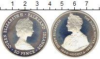 Изображение Монеты Великобритания Фолклендские острова 50 пенсов 1980 Серебро Proof