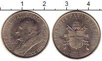 Изображение Монеты Европа Ватикан 100 лир 2001 Медно-никель UNC