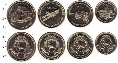 Изображение Наборы монет Антарктика - Французские территории Без названия 2018 Медно-никель UNC