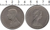 Изображение Монеты Остров Вознесения 50 пенсов 1984 Медно-никель UNC-