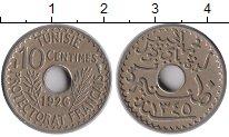 Изображение Монеты Африка Тунис 10 сантим 1926 Медно-никель XF