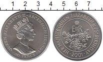 Изображение Монеты Великобритания Остров Вознесения 50 пенсов 2001 Медно-никель UNC-