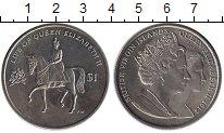 Изображение Монеты Северная Америка Виргинские острова 1 доллар 2012 Медно-никель UNC