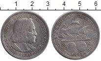 Изображение Монеты США 1/2доллара 1893 Серебро XF-