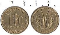 Изображение Монеты Западная Африка 10 франков 1976 Латунь UNC-