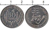 Изображение Монеты Западная Африка 50 франков 1997 Медно-никель UNC-