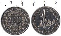 Изображение Монеты Западная Африка 100 франков 1971 Медно-никель UNC-