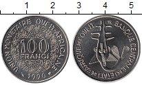 Изображение Монеты Западная Африка 100 франков 1996 Медно-никель UNC-