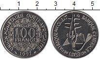 Изображение Монеты Западная Африка 100 франков 1997 Медно-никель UNC-