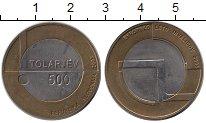 Изображение Монеты Европа Словения 500 толаров 2003 Биметалл UNC-
