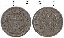 Изображение Монеты Чили 20 сентаво 1922 Медно-никель XF