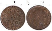 Изображение Монеты Индия 1/12 анны 1909 Бронза XF Эдуард VII