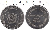 Изображение Монеты ГДР Медаль 0 Медно-никель UNC- 30 лет боевым группа