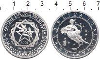Изображение Монеты Италия 10 евро 2003 Серебро Proof Президентство  Итали