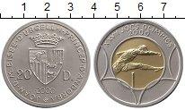 Изображение Монеты Европа Андорра 20 динерс 2000 Биметалл UNC