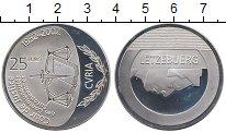 Изображение Монеты Люксембург 25 евро 2002 Серебро Proof-