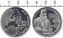 Изображение Монеты Бельгия 10 евро 2006 Серебро Proof